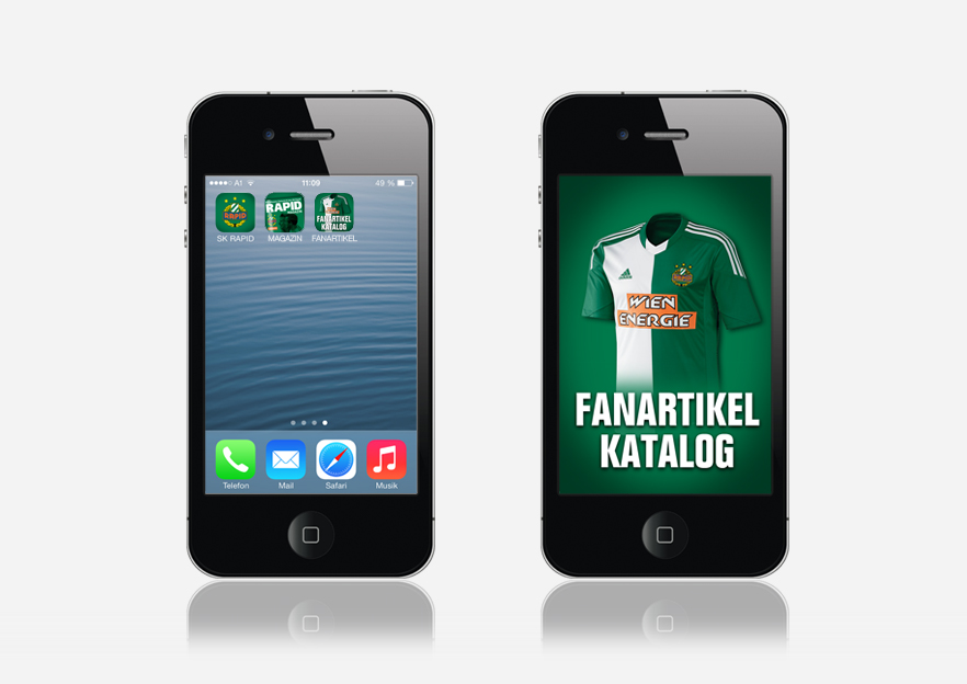 rapid app fanartikel
